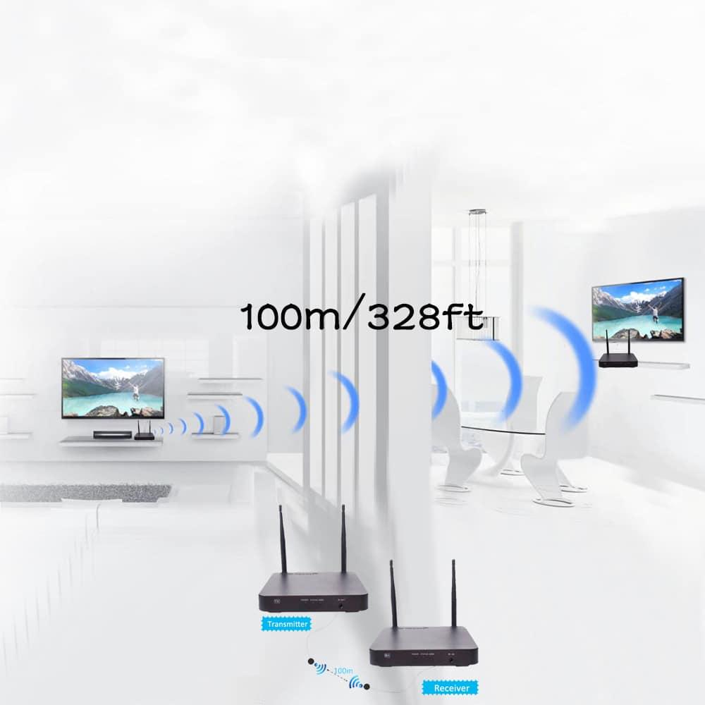 Wireless Hdmi Extender Application 1