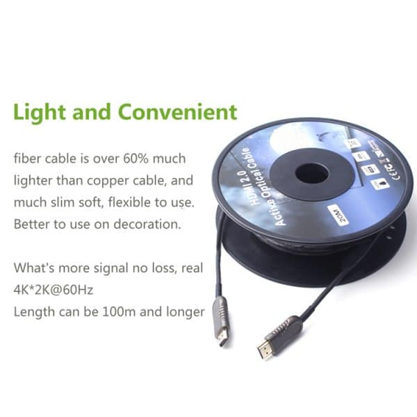 Hdmi Active Fiber Cable