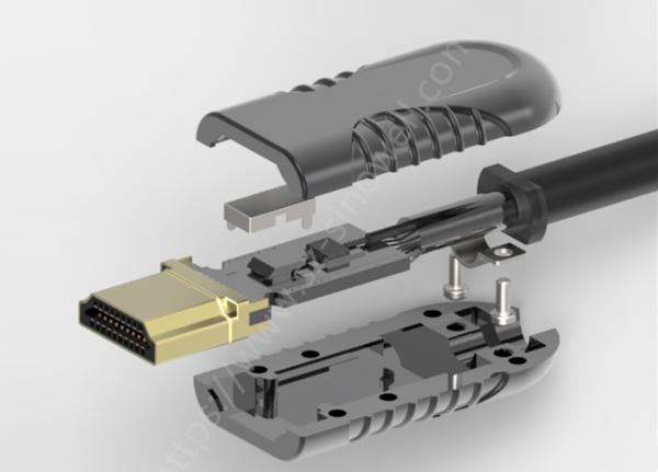 hdmi aoc fiber cable connector sinowell