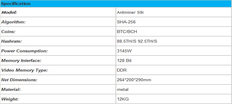 Antminer S19i